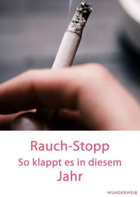 Schnell und effektiv mit dem rauchen aufhoren