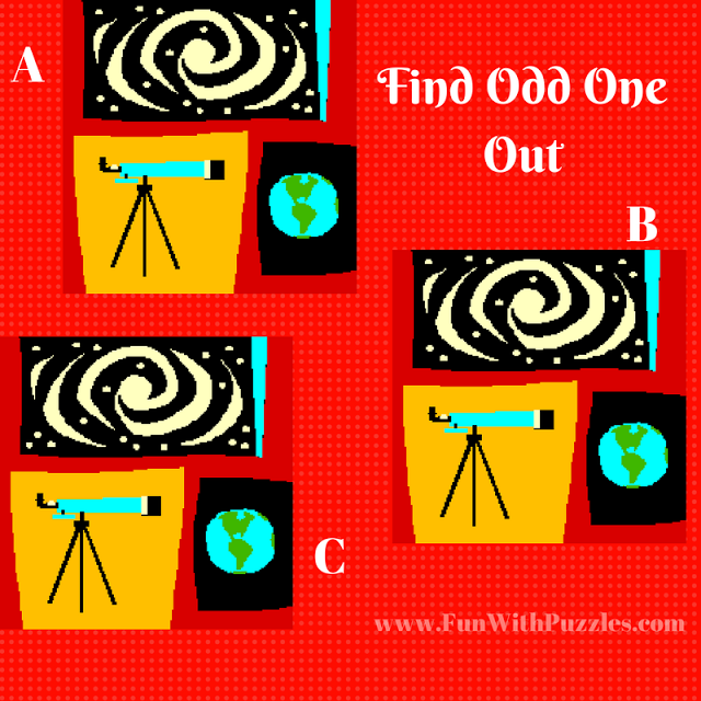 Tricky Image Puzzles to Find Odd One Out with Answers | Visual Brain