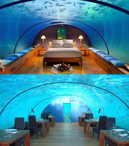 10 Coolest Underwater Places