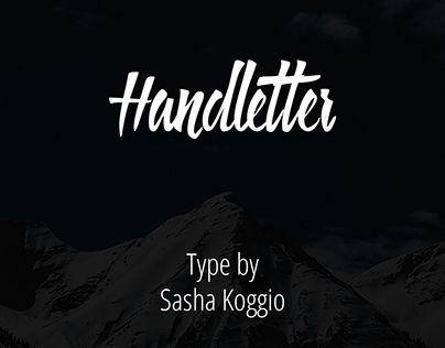 "Echa un vistazo a este proyecto @Behance:""Handletter. Free Font."" https://www.behance.net/gallery/29089719/Handletter-Free-Font"