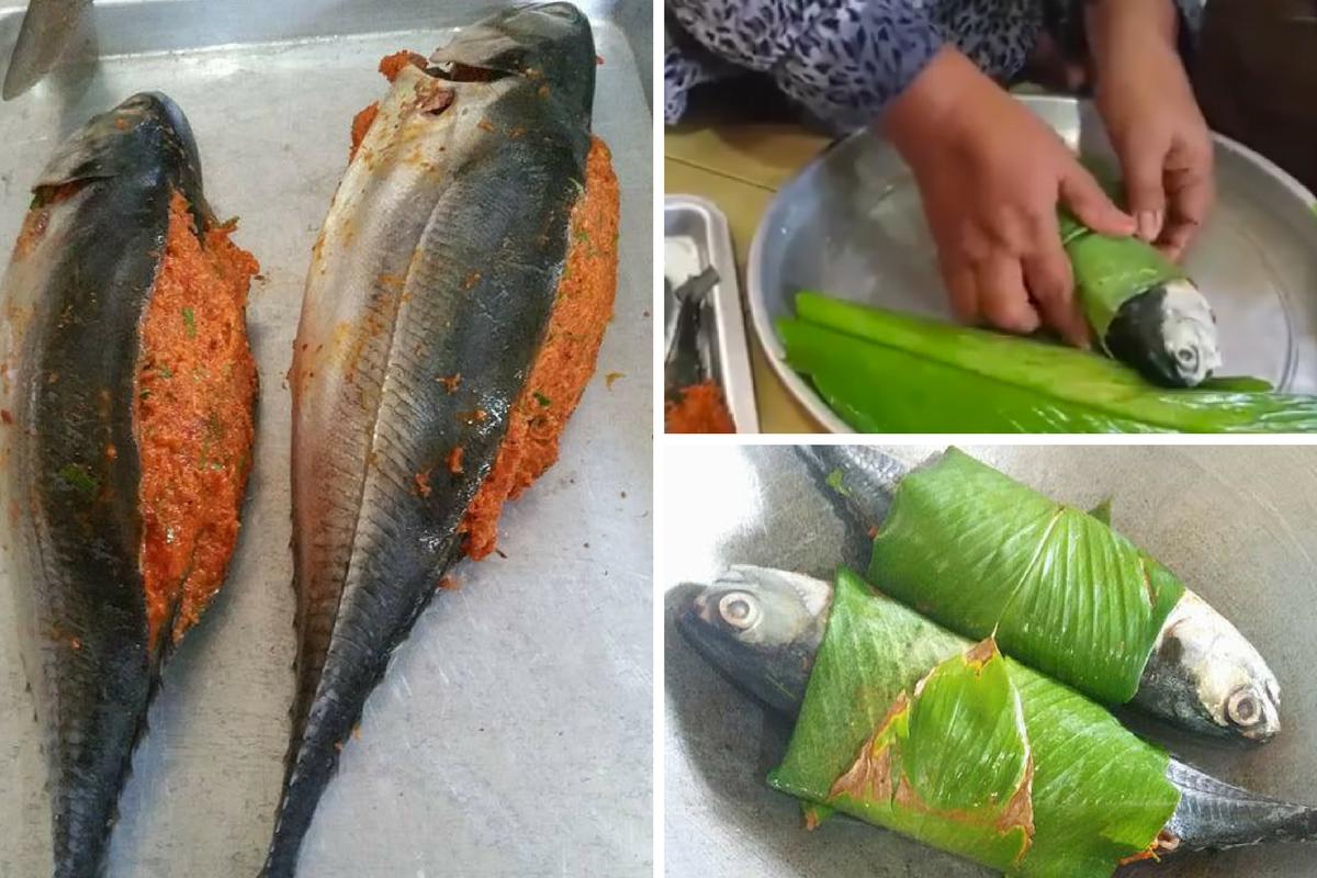 Resipi Ikan Cencaru Sumbat Mak Ajar Step By Step Mesti Jadi Rasa Makanan Masakan Ikan