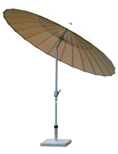 Siena Garden 599281 Sunshine Schirm Bezug Ecru Gestell Silber O 270