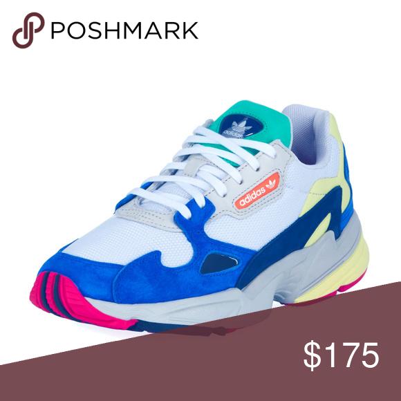 Permiso tempo George Stevenson  Adidas FALCON BLUE Sneakers MULTI-COLOR | Sneakers, Sneakers multicolor,  Blue sneakers