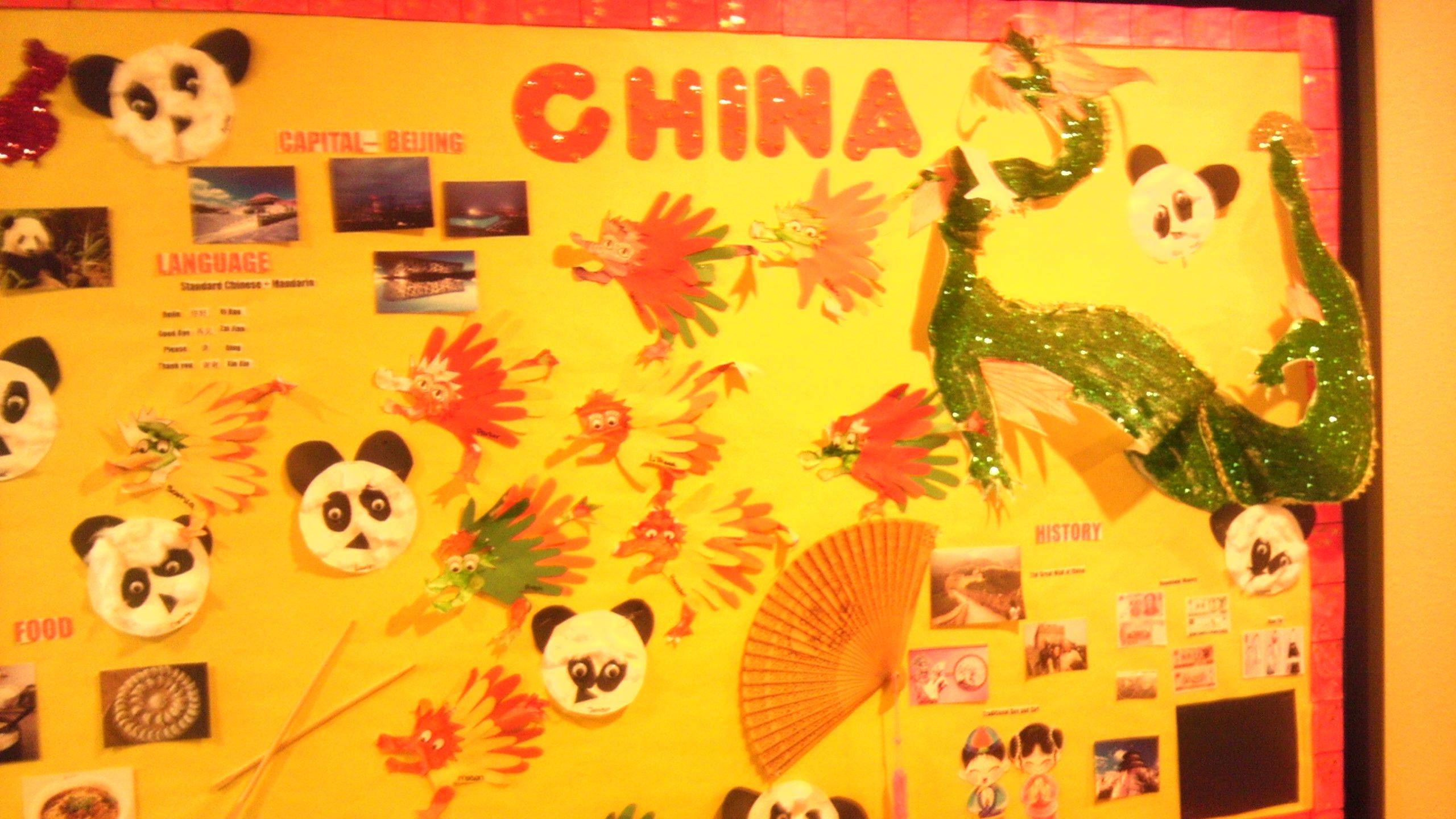 All About China Bulletin Board