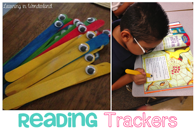 Learning in Wonderland Easy Birthday Ideas, Clip Chart and Reading Buddies!