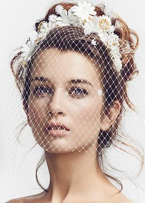 Luna Bea Luxury Bridal Hair Accessories London Bridal Headwear Unique Wedding Veils Unique Veil