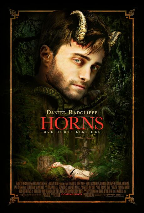 """""""Horns"""" is in theaters today and available on demand."""