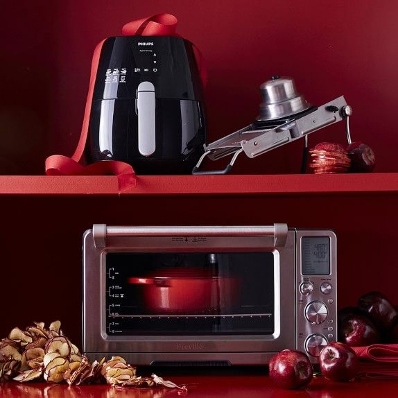 Breville Smart Oven Pro With Light Cranberry Red Oven