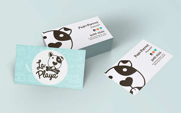La Playa Pet Shop Branding On Behance Pet Shop Branding Shop