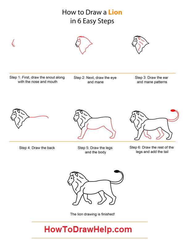 Draw Babylonian lion | Mesopotamia for Kids | Pinterest ...