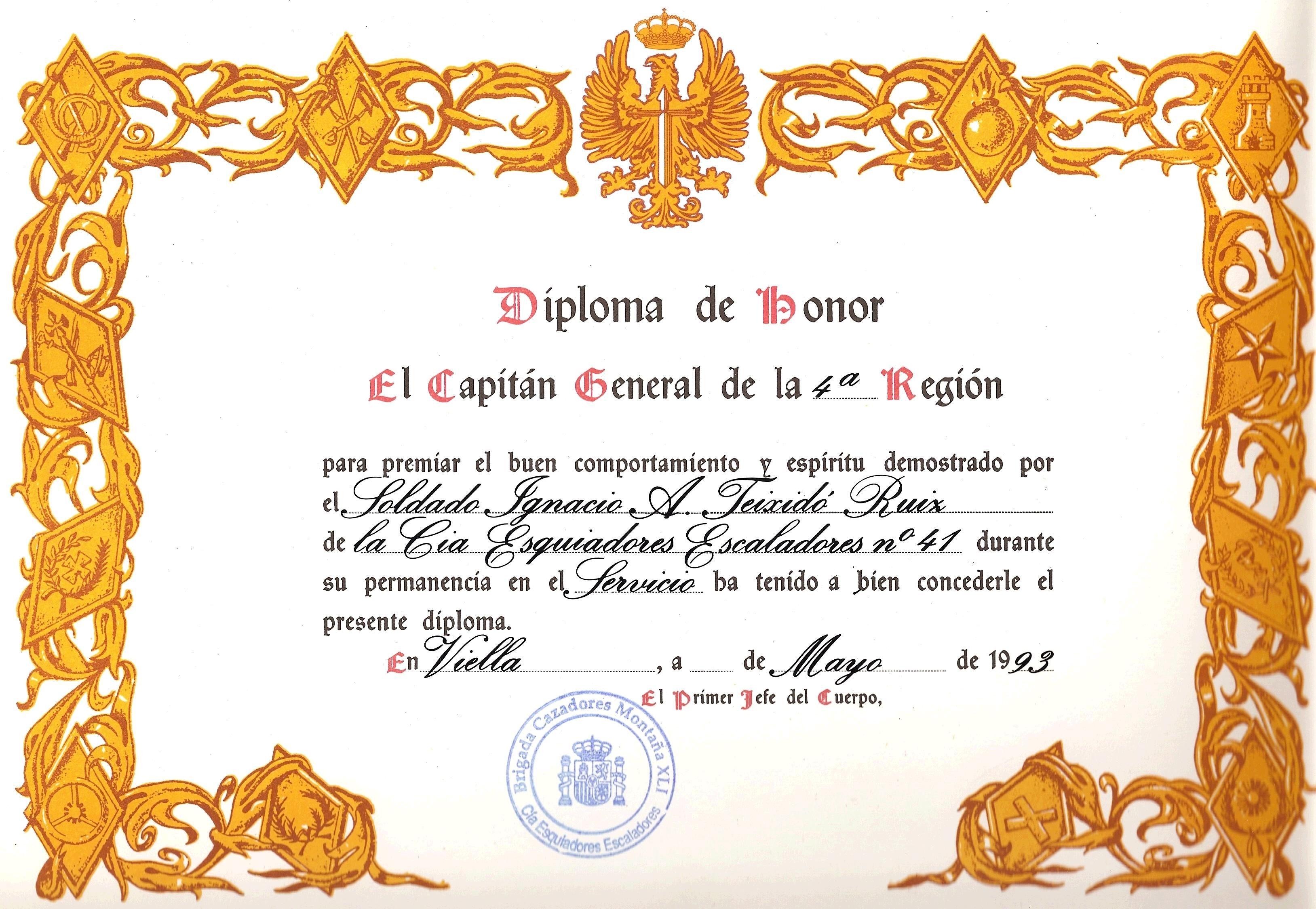 Marcos de diplomas en blanco - Imagui | Diplomas Certificados ...