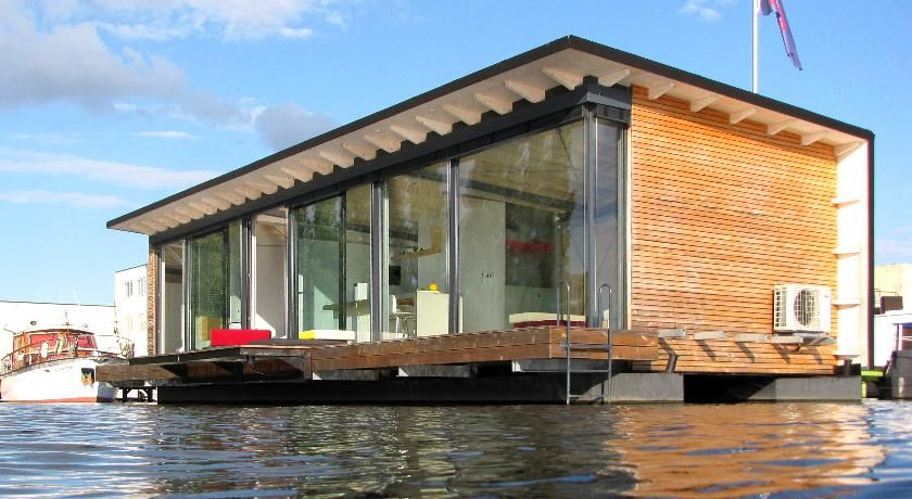 Modern houseboats google search