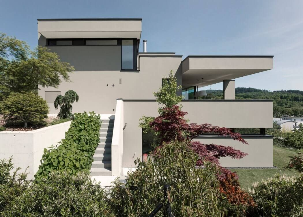 Bauhausstil Zürich House In Zurich By Meier Architekten Architecture 건축
