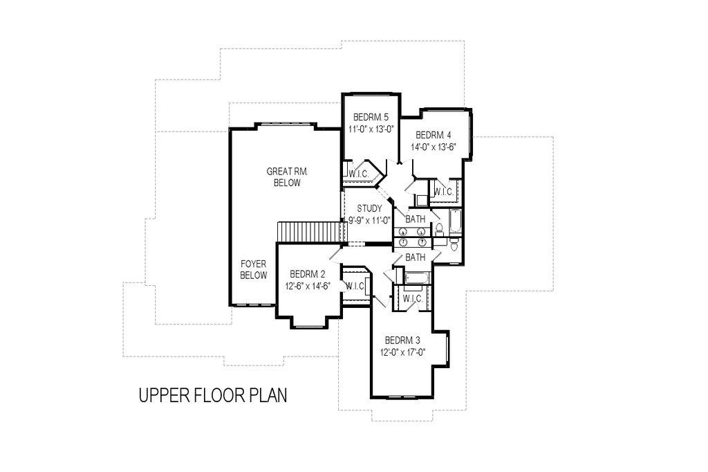 Superb 5 29 Plan #1: Craftsman Style House Plan - 6 Beds 5 Baths 6636 Sq/Ft Plan #920