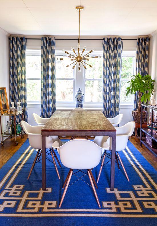 Gentlemanu0027s Bachelor Pad by Design Manifest- Dining Room Ideas