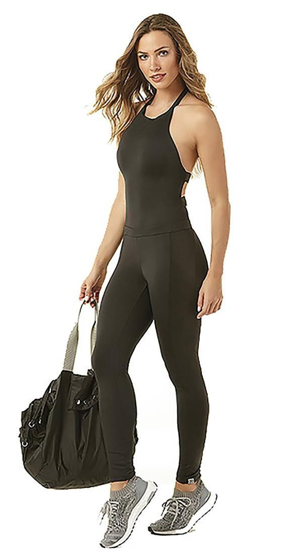 4c3f076dcd3 Brazilian Workout Jumpsuit - Rio Soul One Piece Black or Red