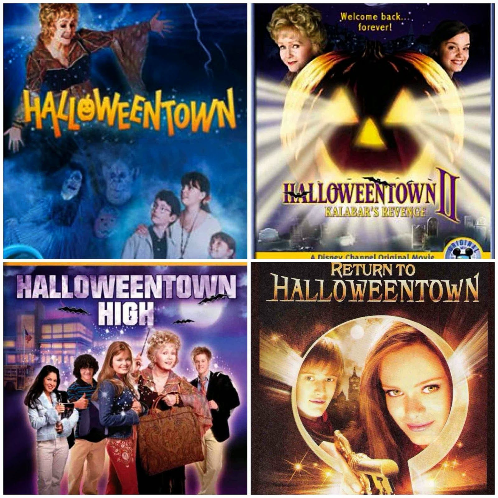 All the halloweentown movies in order