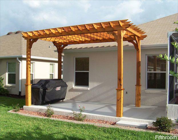 Concrete Slab Pergola Outdoor Pergola Pergola Cost
