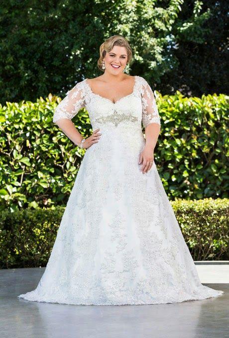 Vestidos de novia para muy gorditas