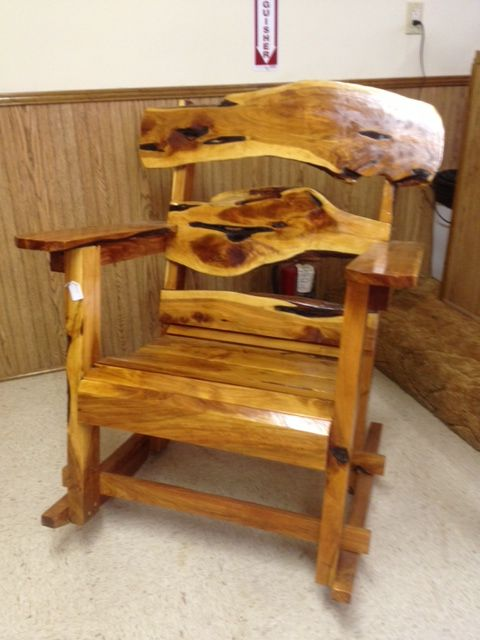 cedar rocking chairs baby kmart the old post handmade rustic green builder made in usa