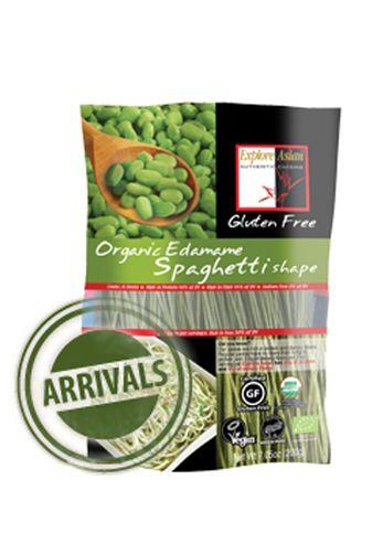 Edamame Spaghetti Organic Beanpasta Glutenfree Delish Www