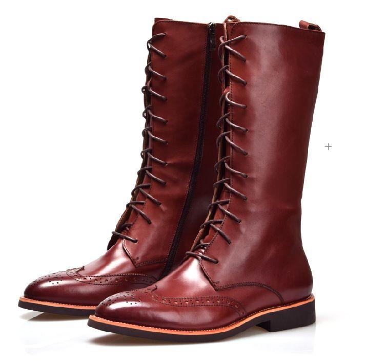aac80274f2 Popular Mens Knee High Boots-Buy Cheap Mens Knee High Boots lots ...