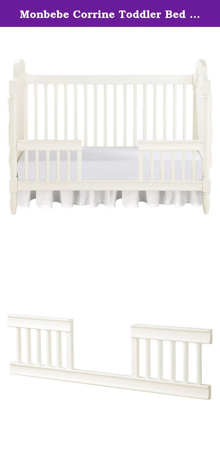 Monbebe Corrine Toddler Bed Guard Rail - French. Just ...