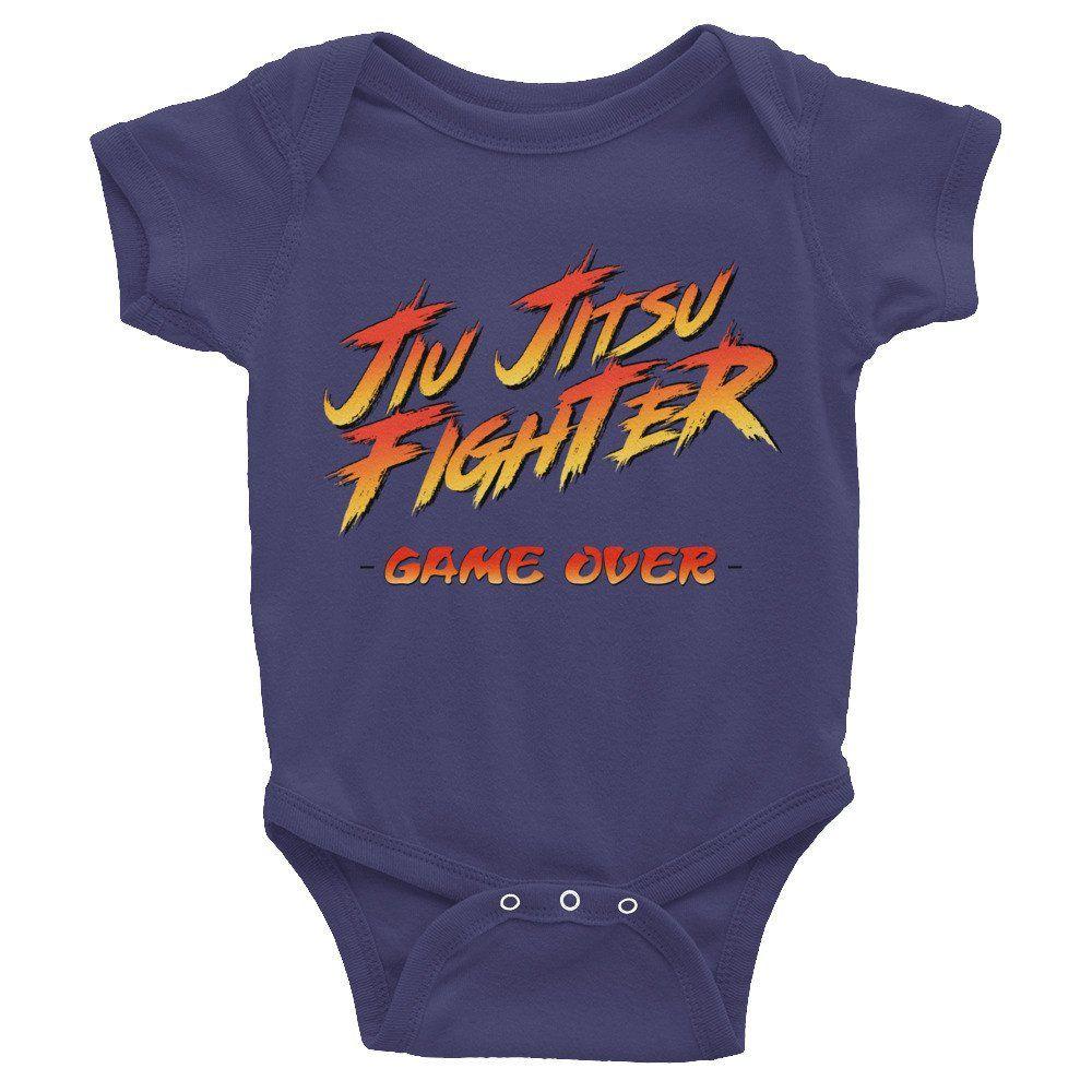 234f4f9b Jiu Jitsu Fighter Infant short sleeve one-piece BJJ Tee | Kids BJJ ...