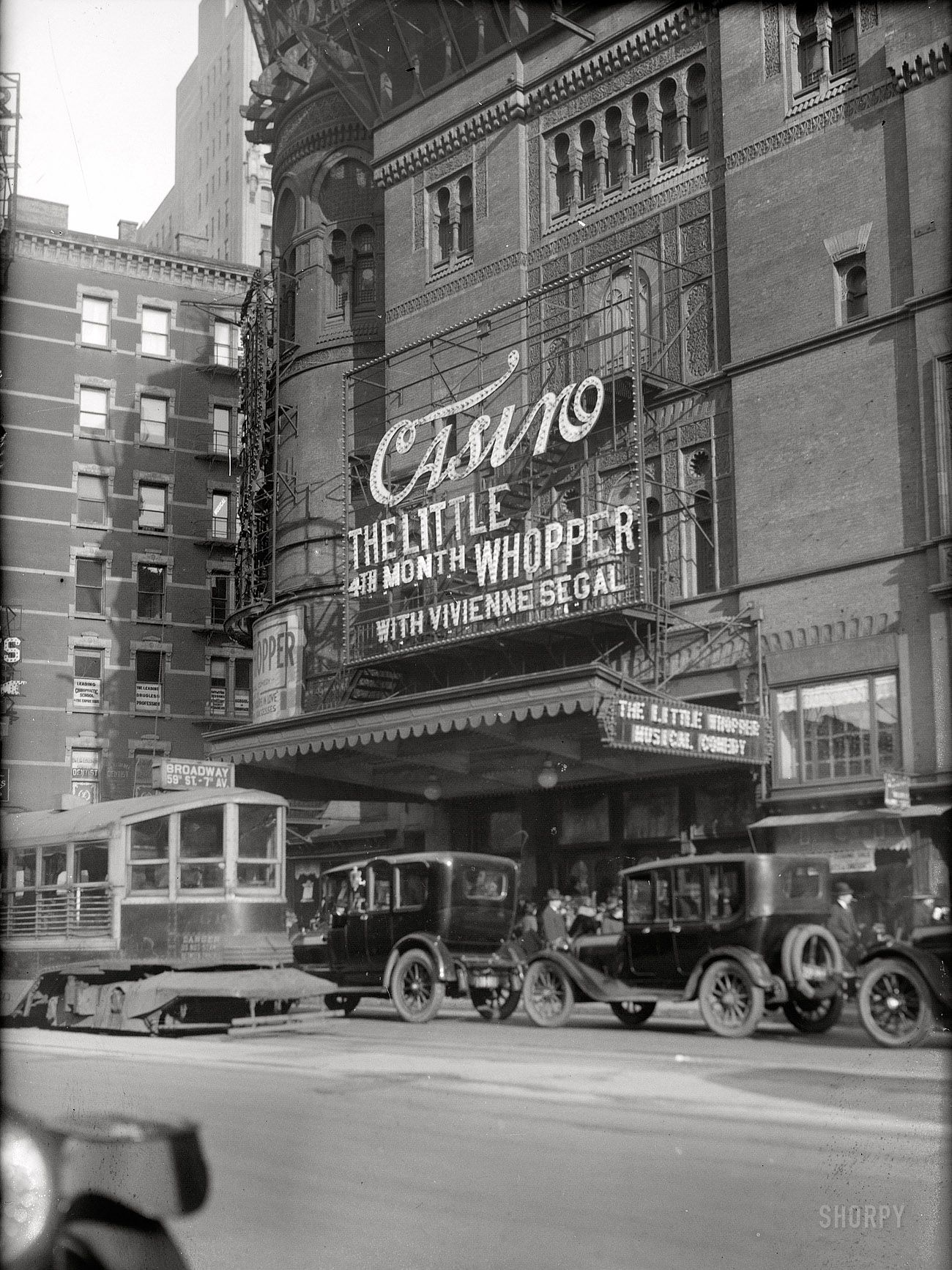 new york circa 1920 quotcasino theater playing the musical