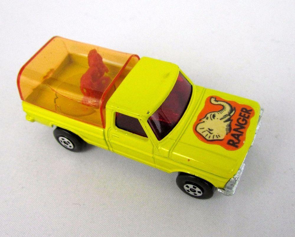 Vtg 1973 Matchbox Rolamatics 57 WILD LIFE Truck Lesney