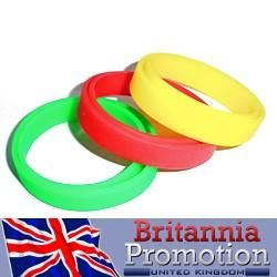 Fundraiser Bracelets Silicone Wristbands Needone Event Britannia Promotions