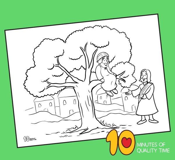 Zacchaeus Coloring Page Printable Coloring Pages Owl Coloring Pages Zacchaeus
