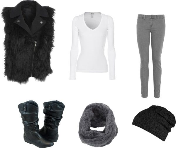"""""""My winter look"""" by michelle-northcutt ❤ liked on Polyvore"""