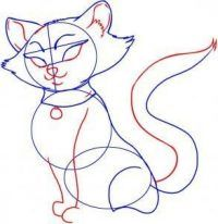Katze Selber Malen Dekoking Com 6 Selber Malen Katze Cartoon
