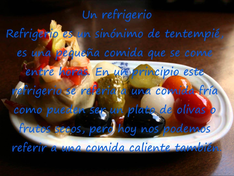 Vocabulario Relacionado Con Las Comidas Spanishfspain