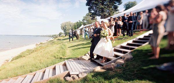 Wedding Preppy On Lake Ontario
