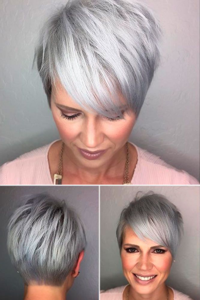 20 Trendy Short Haircuts For Women Over 50 Hair Make Up Jewelery