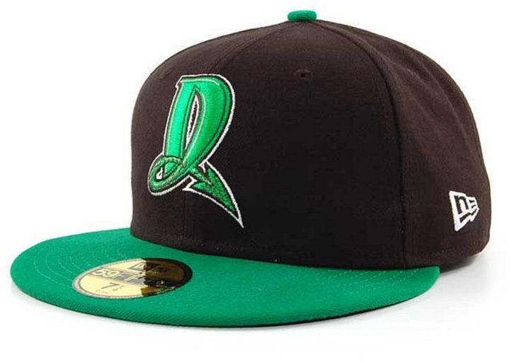 087f6c5a593d1 New Era Dayton Dragons MiLB 59FIFTY Cap - Black Green 7 1 4 ...