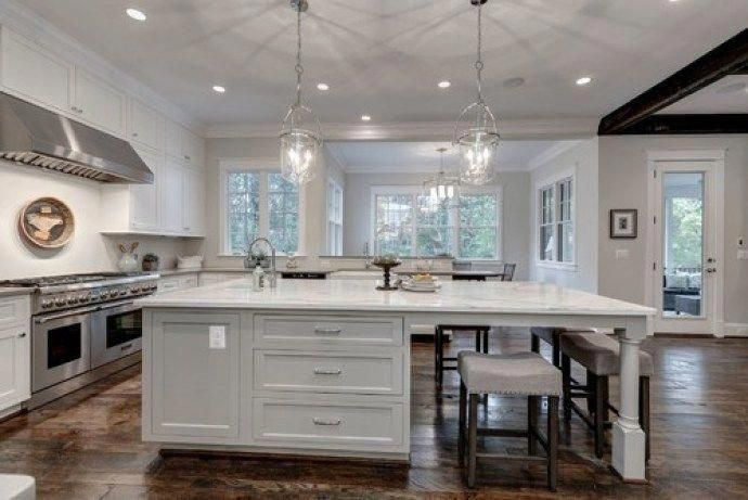 Non-white Kitchen Cabinet Paint Colors - Mindful Gray ...
