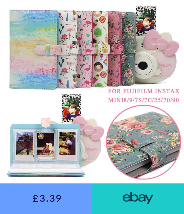 Instax mini Album,Polaroid photo Album,3 photo Album for 96 photos