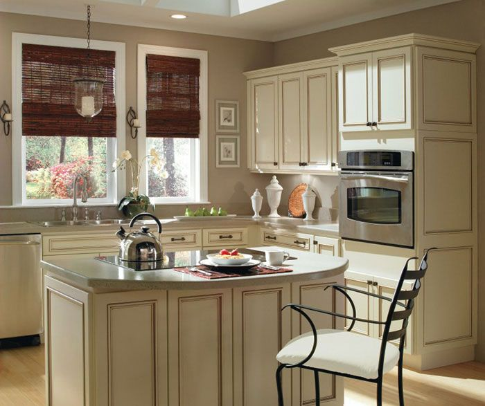 Wellington Ivory Kitchen Cabinets Ivory Kitchen Cabinets3 | Homecrest Cabinetry
