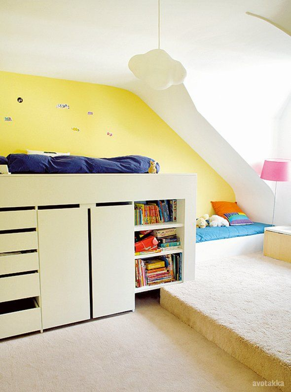 Loft Beds Are A Great Way To Save Space But They Can Also