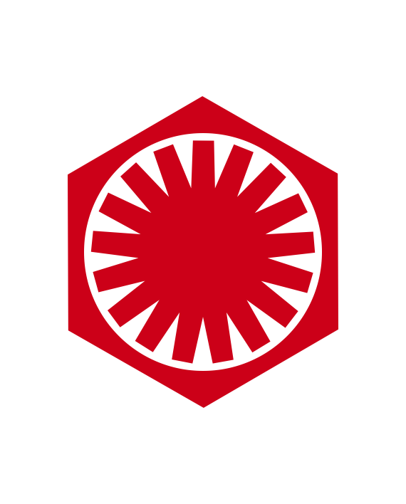 Pegatina Primera Orden Star Wars Sw12r Egresaditos