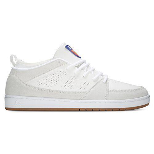5bda3fad Es Skateboard Shoes SLB Mid (11.0 D(M) US Mens, White): SLB Mid White