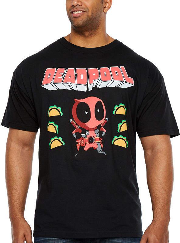 52e1074aa Novelty T-Shirts Deadpool And Friends Short Sleeve Deadpool Graphic T-Shirt- Big and Tall