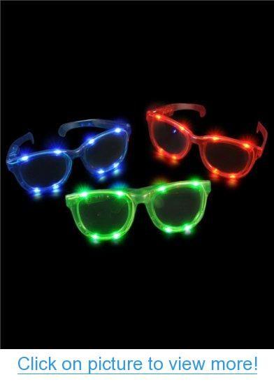 Lumistick Led Light-Up Patriotic Eyeglasses