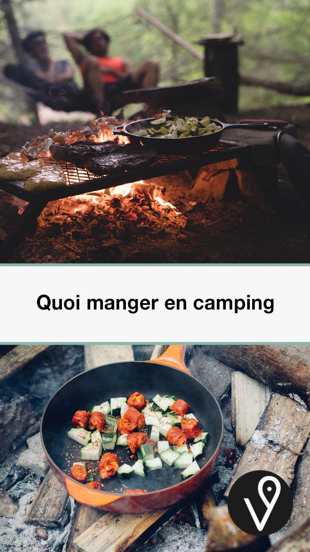 Quoi manger en camping | Quoi manger en camping, Repas camping, Quoi manger