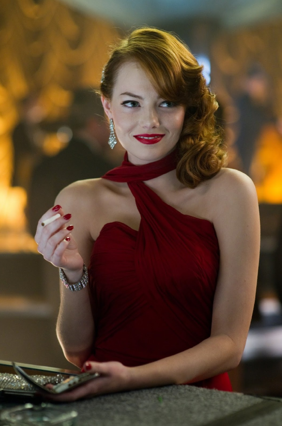 Emma Stone In Gangster Squad Iconic Mobster Beauties From