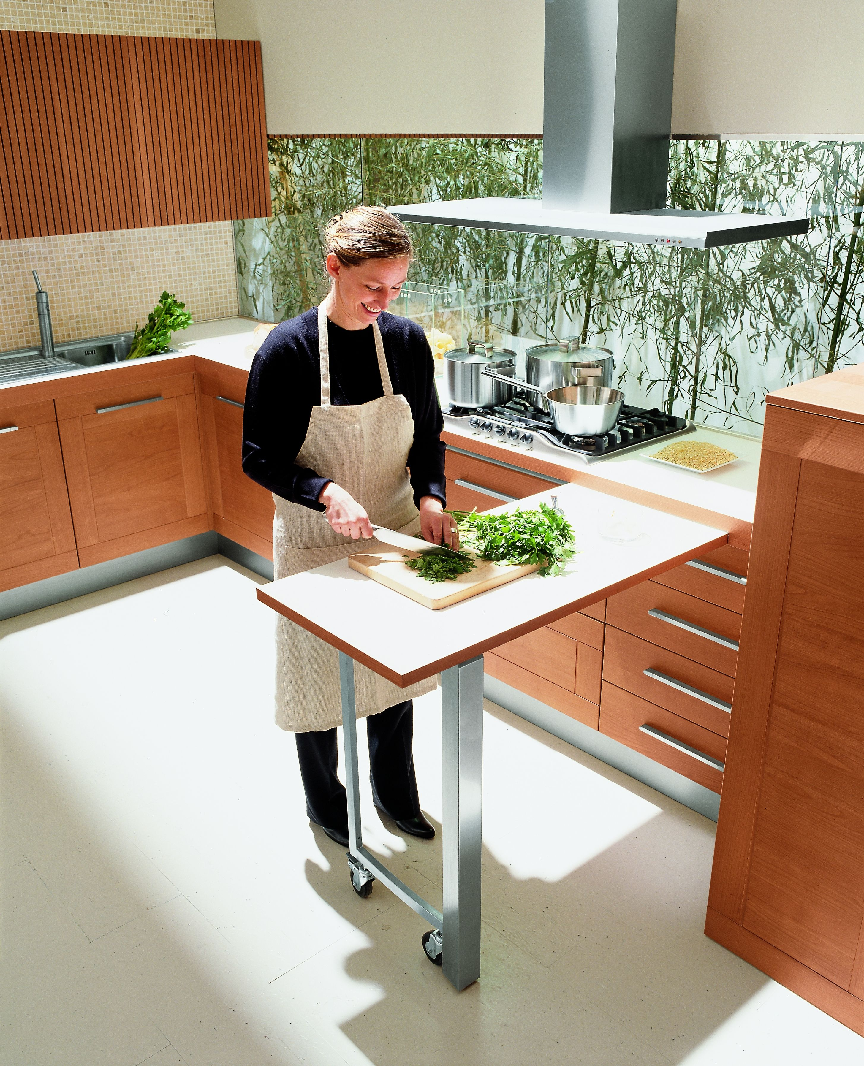 Pull Out Kitchen Work Tables Small Kitchen Kitchen Kitchen Work Tables