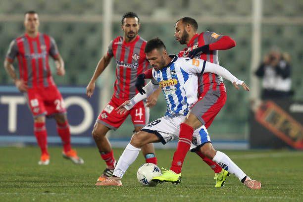Pescara 0 Cremonese 0 in Jan 2019 at Stadio Adriatico ...